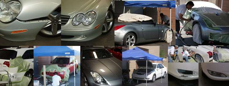 Bumper blends, minor paint,body repairs -  Scottsdale,  Phoenix, Arizona