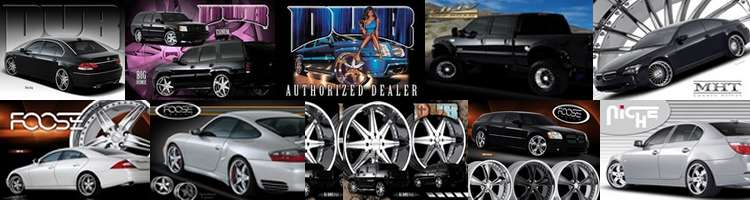 Complete Custom Wheel and Performance Tire Packages -  Scottsdale,  Phoenix, Arizona