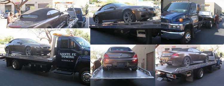 Flat Bed Towing Service - Scottsdale, Arizona
