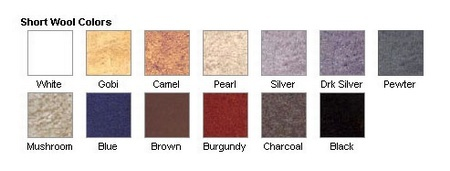 Choose from 13 luxurious colors